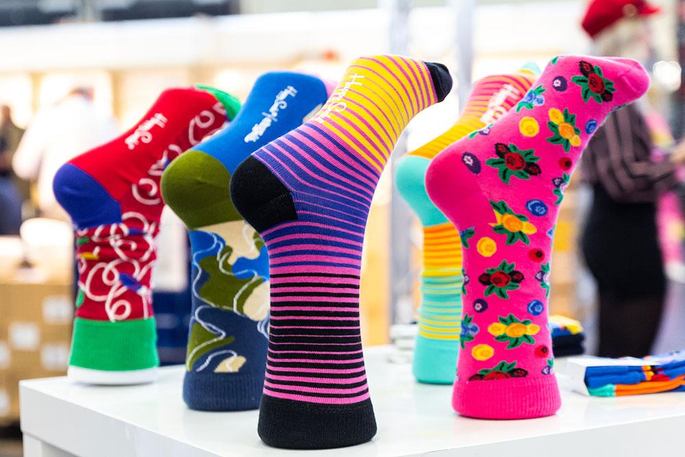 Bunten Socken