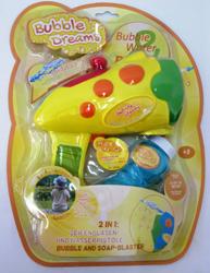 Seifenblasen- und Wasserpistole