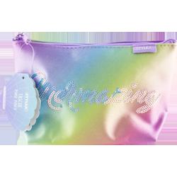 Tasche in Regenbogen-Optik mit Pailletten